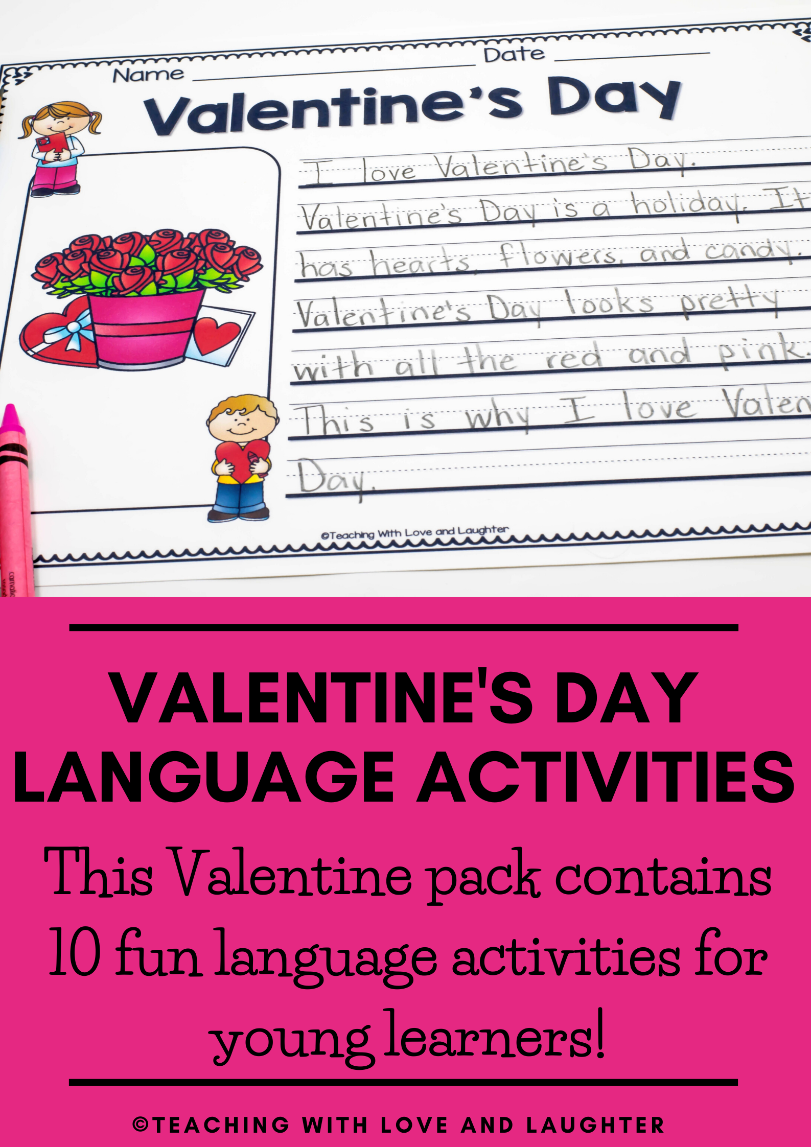 Includes 10 Fun Language Activities To Help Students