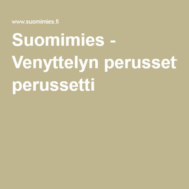 Suomimies - Venyttelyn perussetti