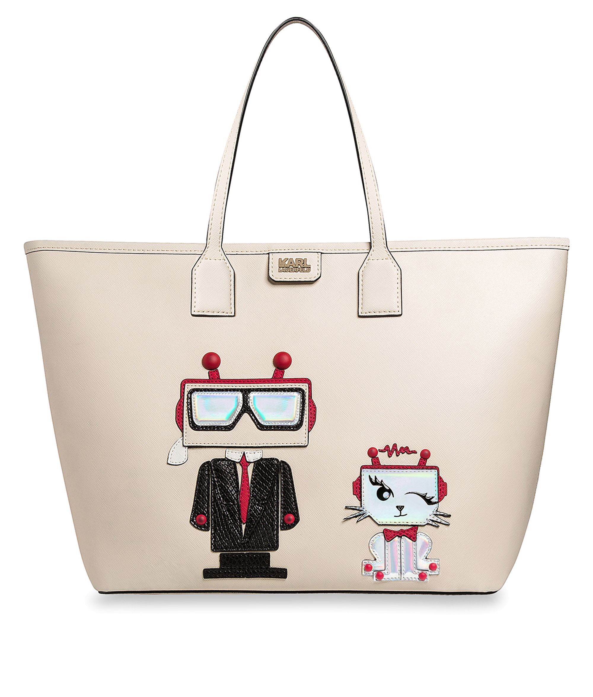 Are you looking for KARL LAGERFELD women's K/ROBOT SHOPPER KARL & CHOUPETTE? Discover all the details on KARL.COM. Fast delivery and secure payment.
