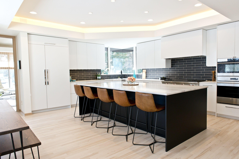 Eh Design Blog  Wayzata Modern Kitchen Remodel  View