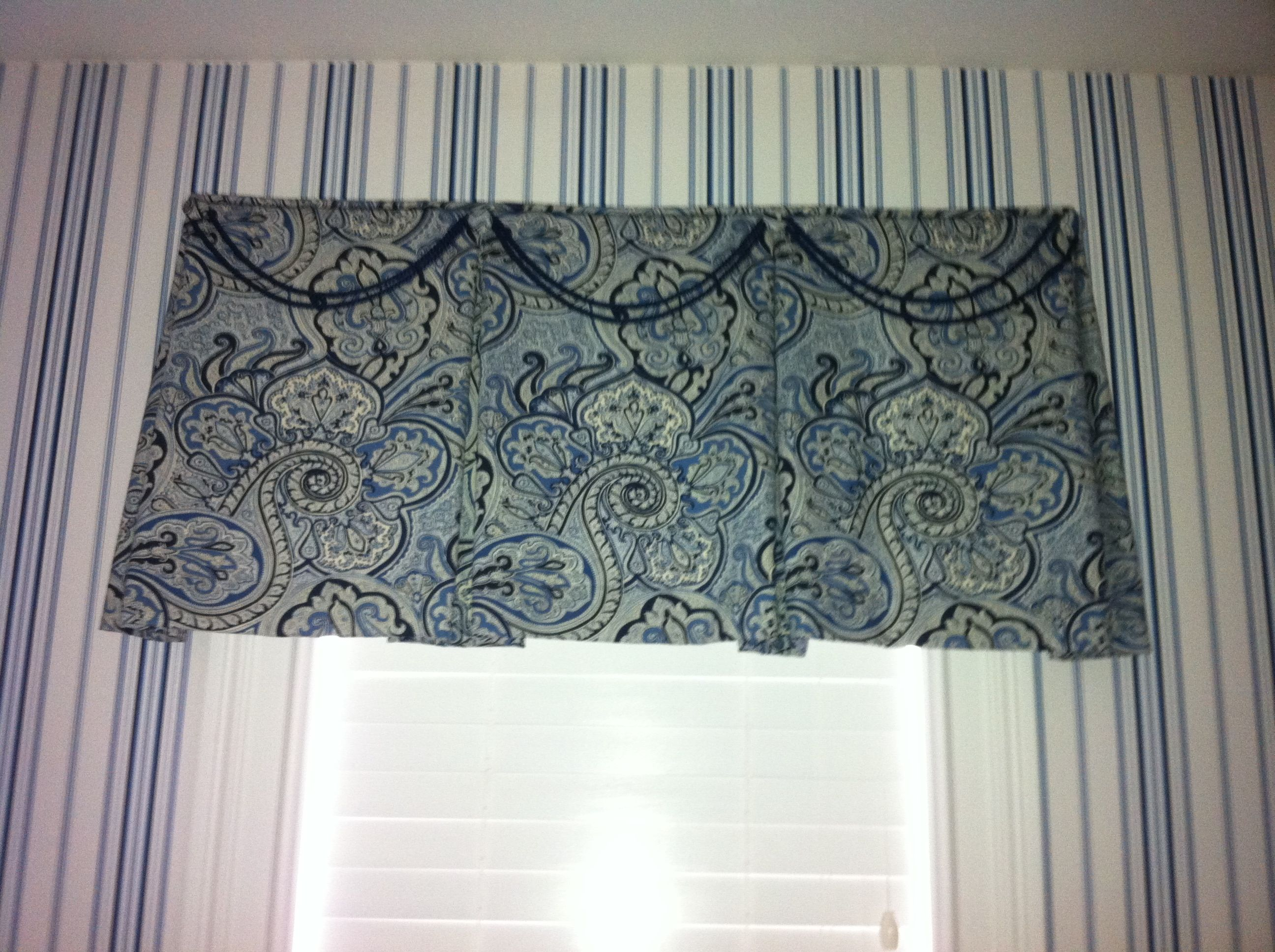 Laundry Room Valance Custom Window Treatments Custom Windows Valance