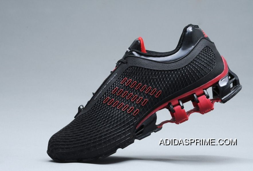 Black Red High Quality Adidas Porsche Design Sport Bounce S2 P5000 Shoes New Style Sneakers Men Fashion Sneakers Adidas Shoes Mens