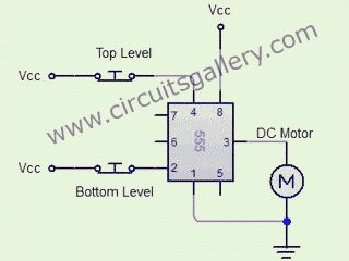 Automatic water tank level controller motor driver circuit ...