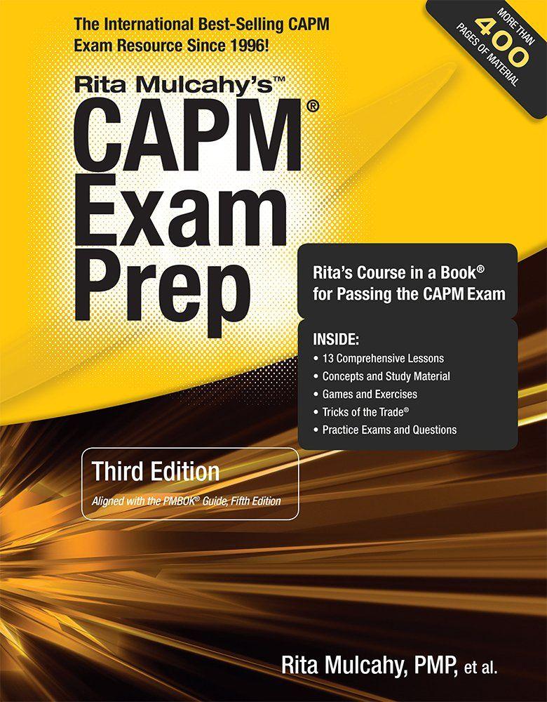 Capm Exam Prep 3rd Edition Rita Mulcahy 9781932735727 Amazon
