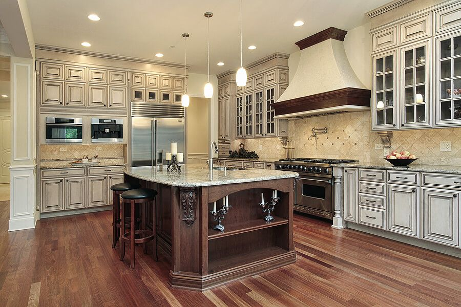 Instead of vertical double ovens, how about a horizontal ...