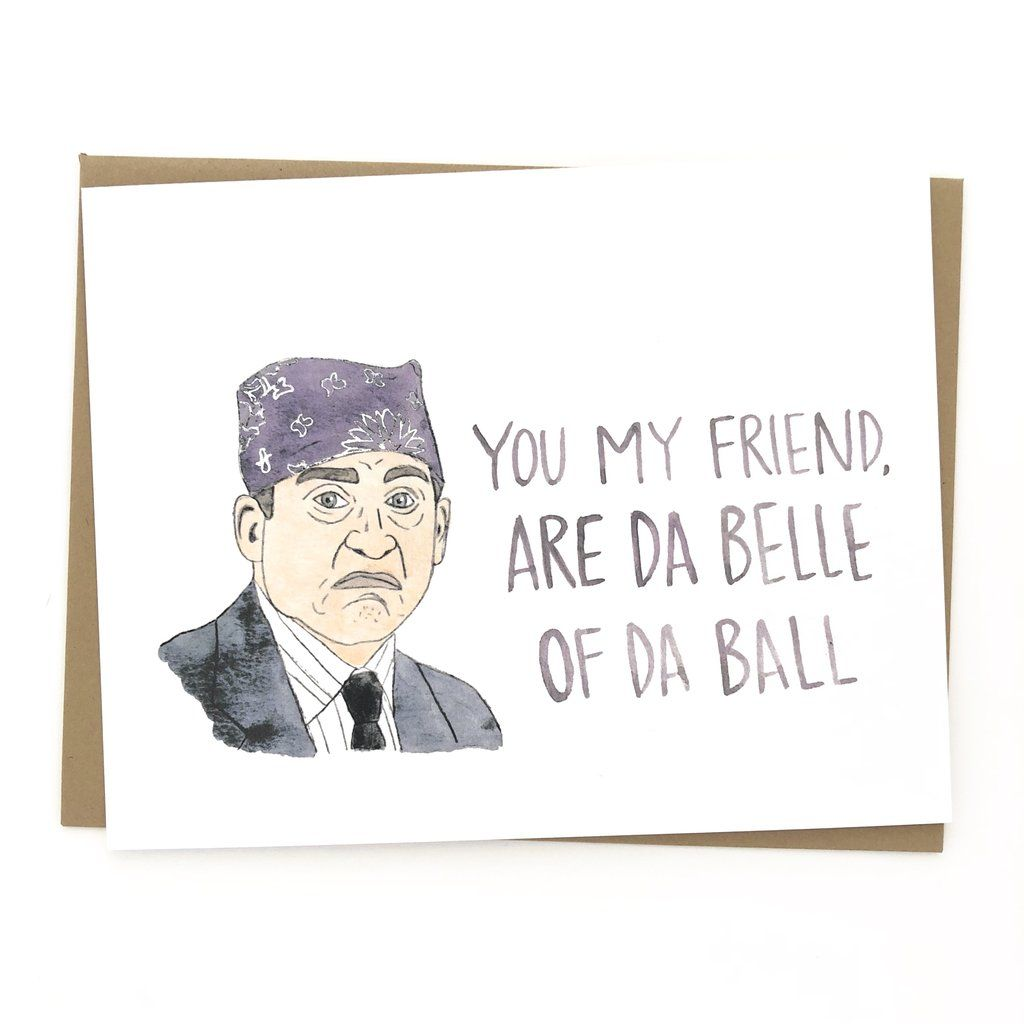 The Office // Prison Mike Card The office valentines
