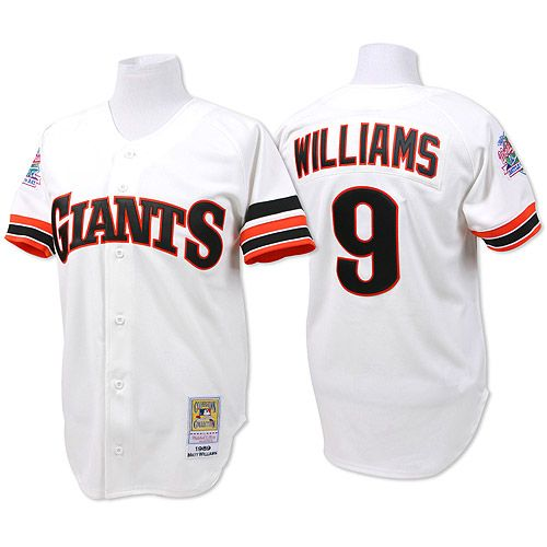 San Francisco Giants Authentic 1989 Matt Williams Home Jersey By Mitchell Amp Ness Mlb Com Shop Jersey Mlb Baseball San Francisco Giants