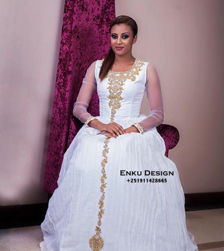 Traditional Ethiopian Dress Design