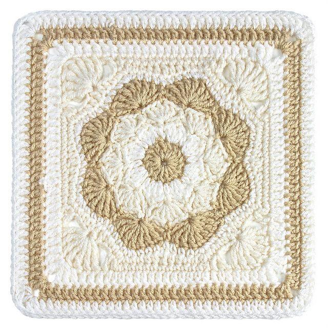 Harriett Square: free crochet pattern | virkade rutor | Pinterest ...