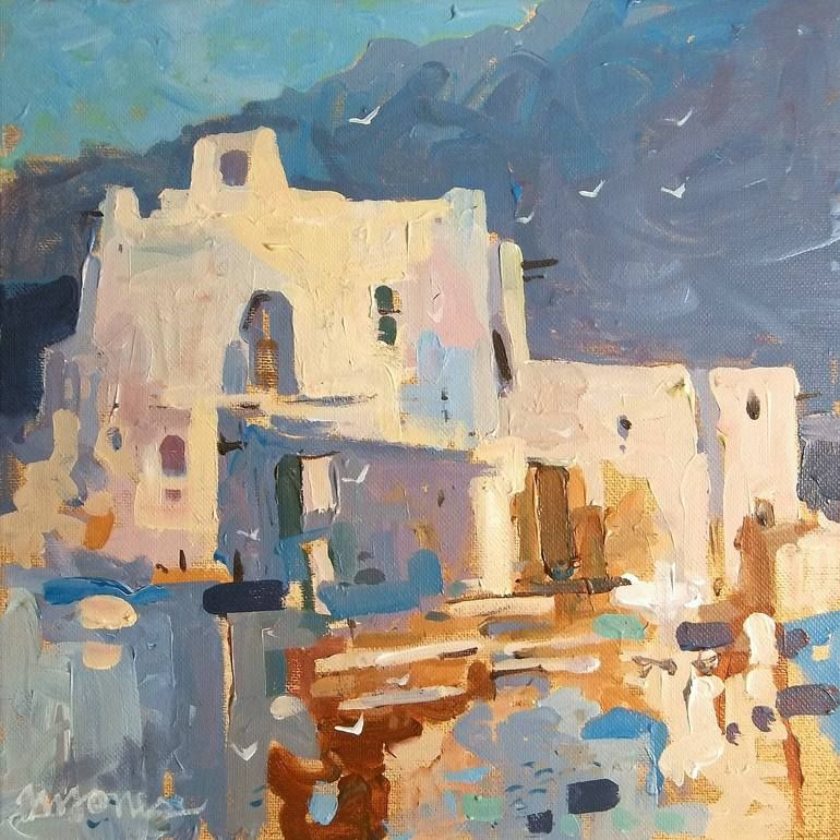 Evening Mission, Micheal Jones Painting, Saatchi art, Art