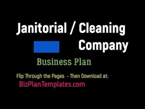Cleaning Maid Service business plan - template sample example How