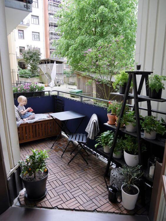 Apartment Balcony Decorating Ikea