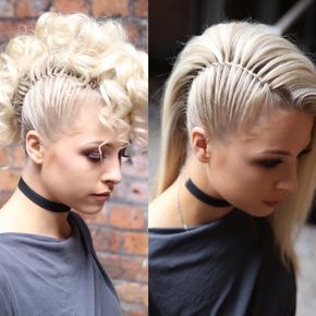Photo of Twist Mohawk VS. Side Mohawk by SweetHearts Hair #hairtutorials 2 Faux Mohawk ha …