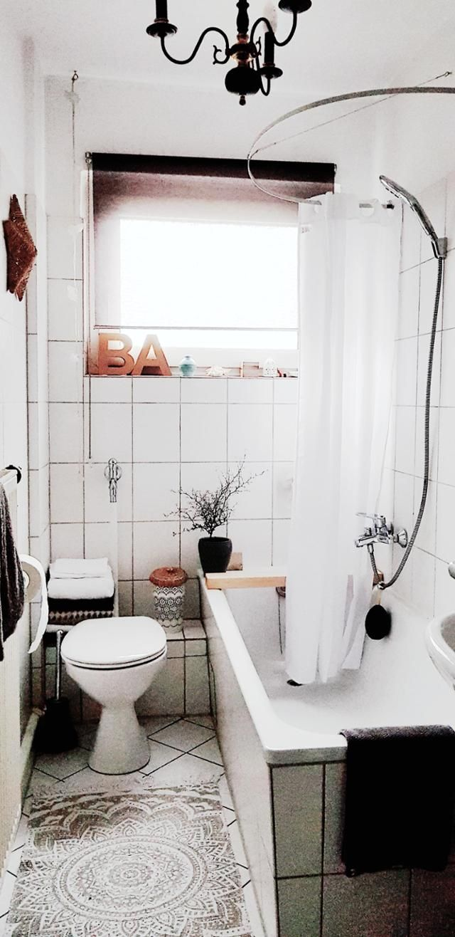kleine badezimmer ideen bilder | round mirror bathroom