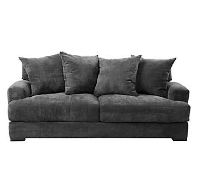 Comfy Grey Couch Living Room Sofa Best Leather Sofa