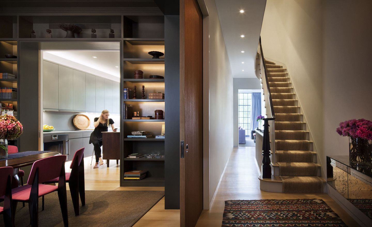 Spotlights For Narrow Foyer Next To Stairs? Rees Roberts + Partners LLC    Horatio Street