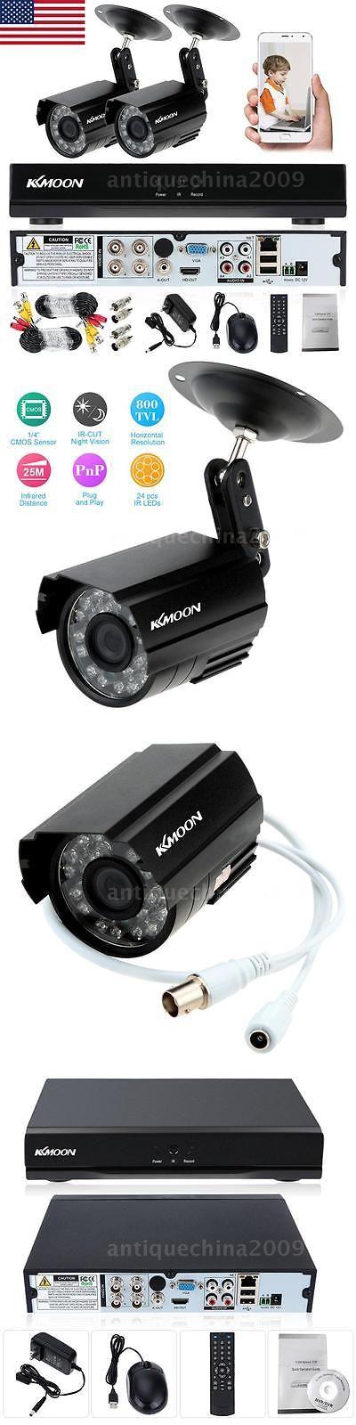 Surveillance Security Systems: 4Ch 960H P2p Hdmi Dvr 800Tvl ...