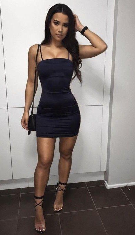 Mamis con vestidos cortos