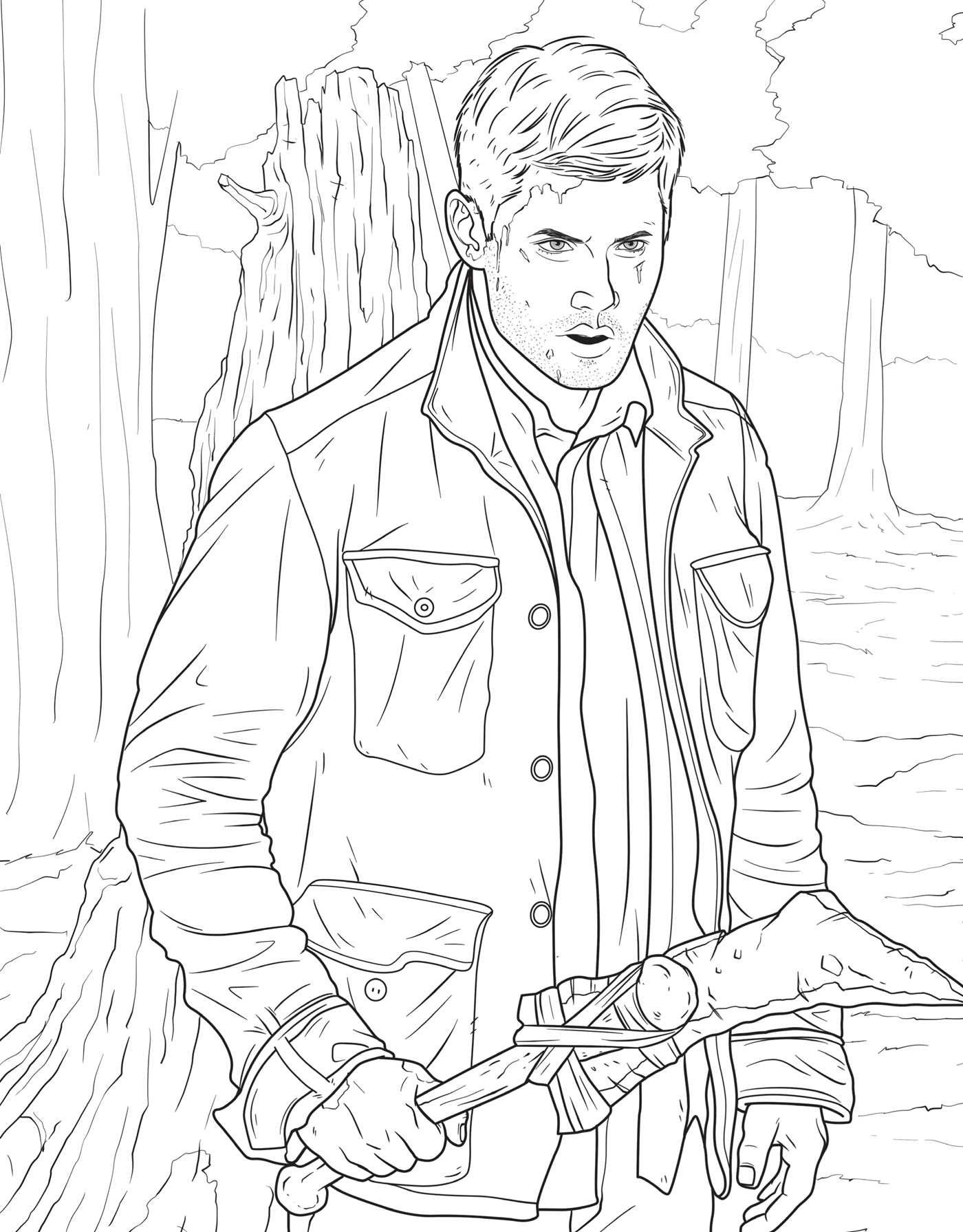 The Official Supernatural Coloring Book: Monsters, Demons ...