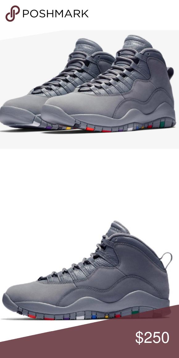 Cool grey retro 10s | Jordans for men