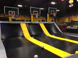 Massive Indoor Trampoline Park Will Open In May Indoor Trampoline Trampoline Trampoline Park
