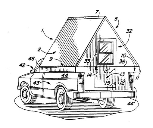 A Frame Camper For Pickup Trucks From Starling Travel