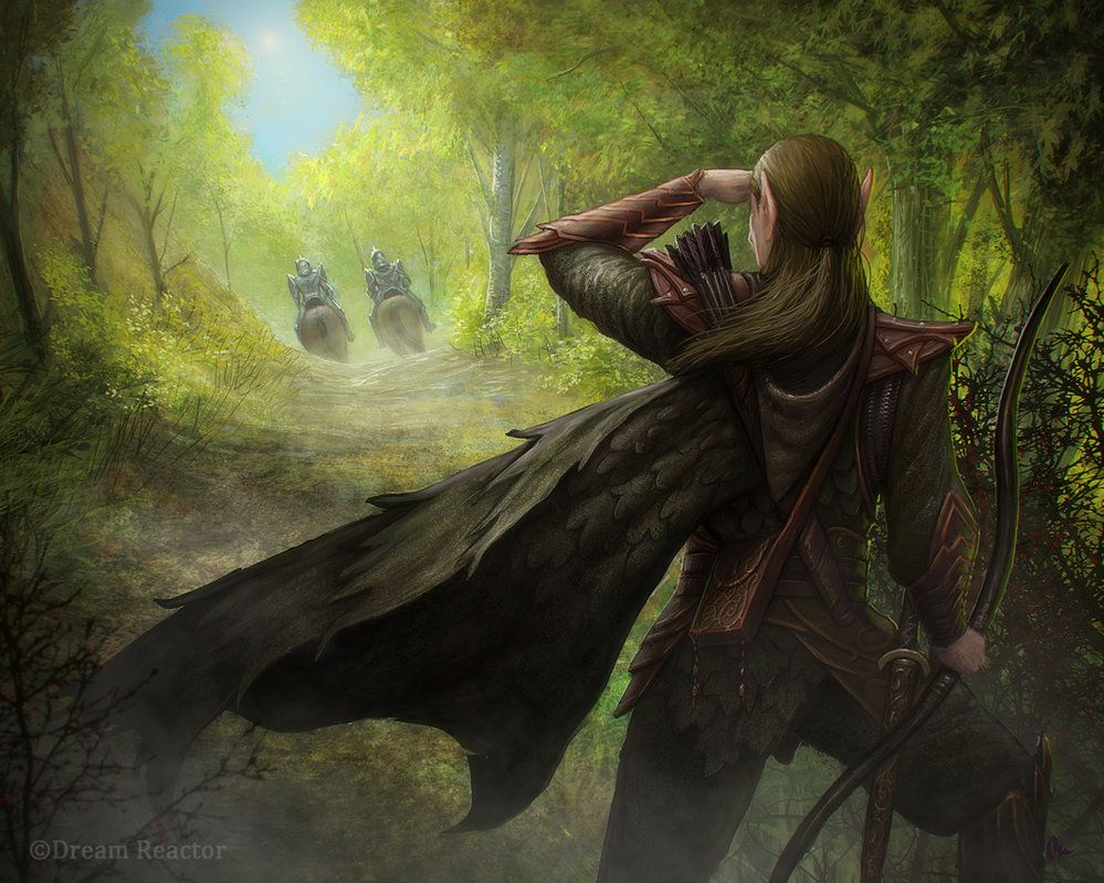 Image result for lotr lcg scout art