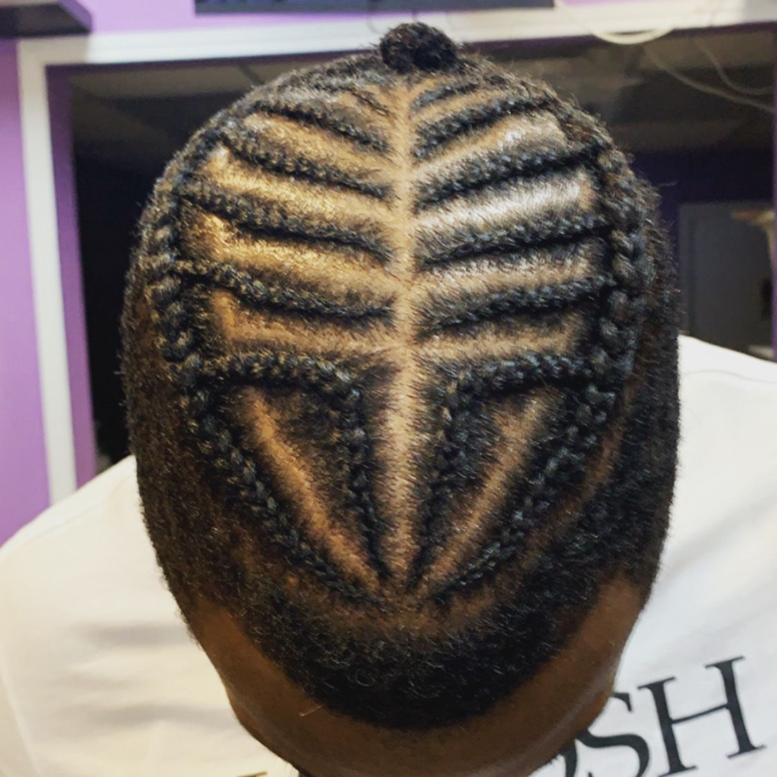 Men Cornrows Design In 2020 African Hair Braiding Salons Braided Hairstyles Hair Braiding Salon