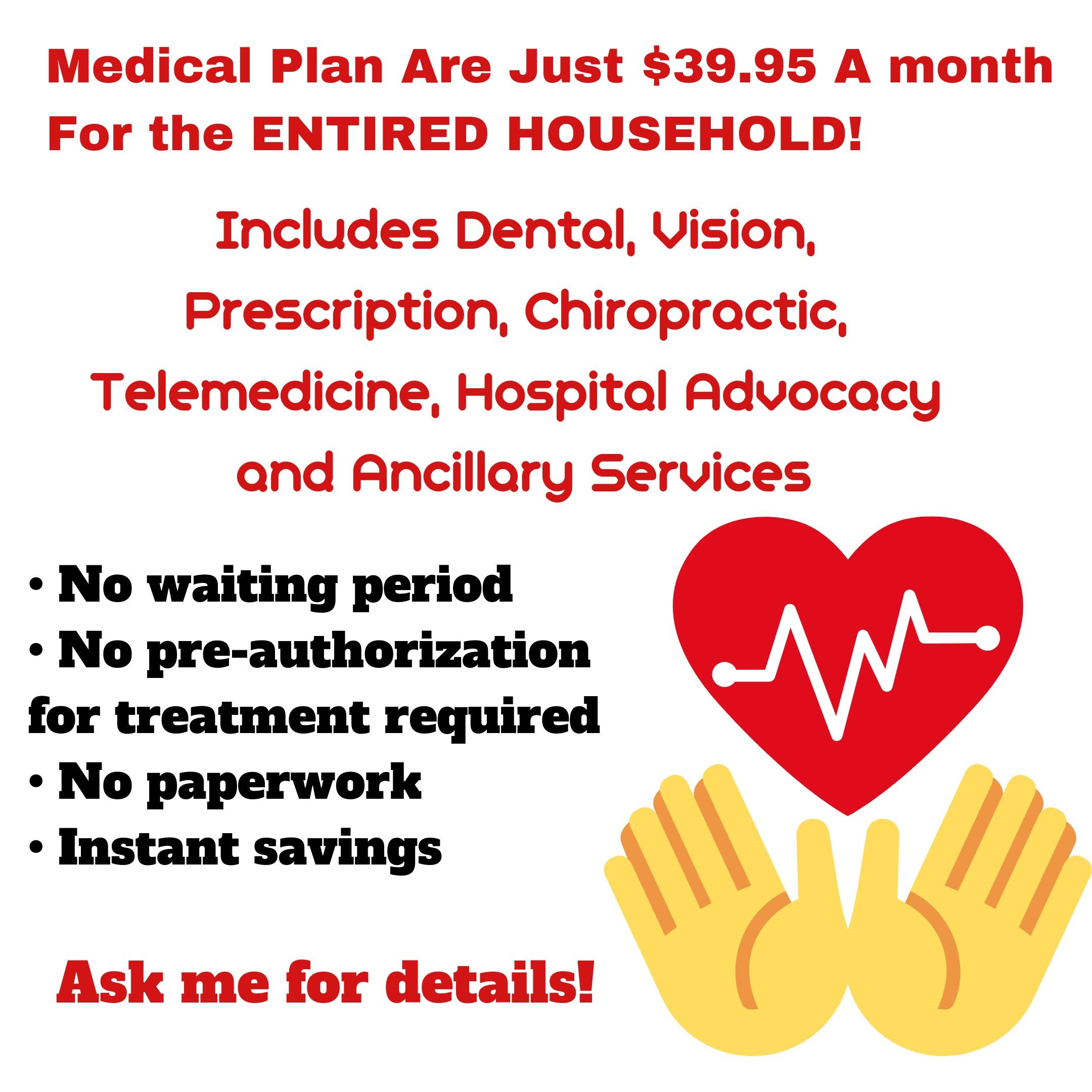 Save up to 80 on Your Families Medical Needs for ONLY 39