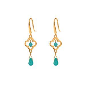 Ohrringe Lucky, small - Gold - Art.-Nr.: OH4047-TK #earrings #jewellery #Leaf #fashion #style #accessoires www.leaf-schmuck.de