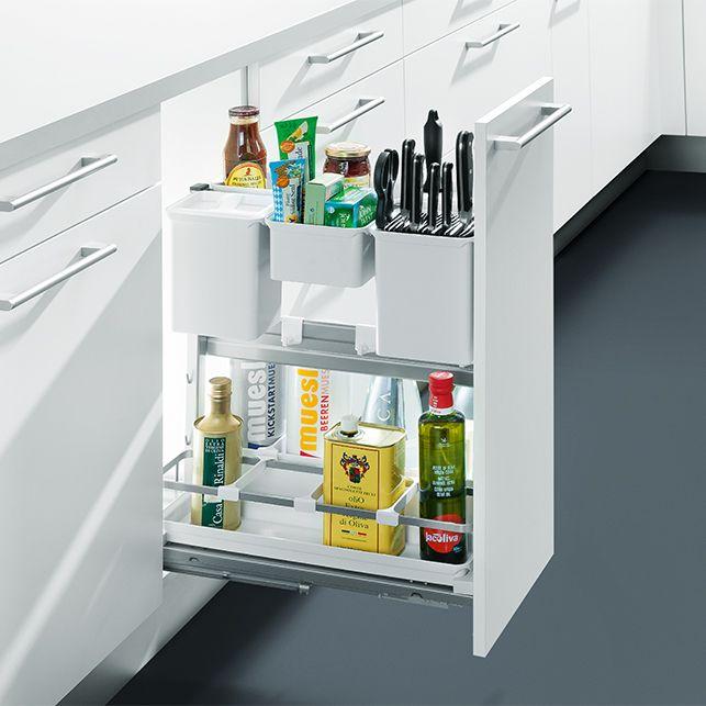 auszug unterschrank f r kochutensilien wohnen pinterest kitchen utensils and kitchen tools. Black Bedroom Furniture Sets. Home Design Ideas