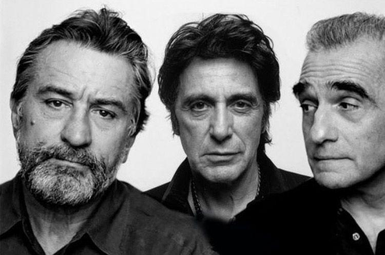 Robert De Niro Al Pacino And Martin Scorsese Al Pacino Martin