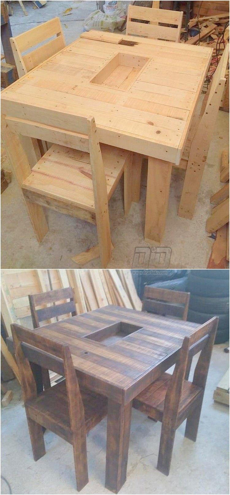 Idealistic Pallet Wood Creative Projects Com Imagens Moveis De