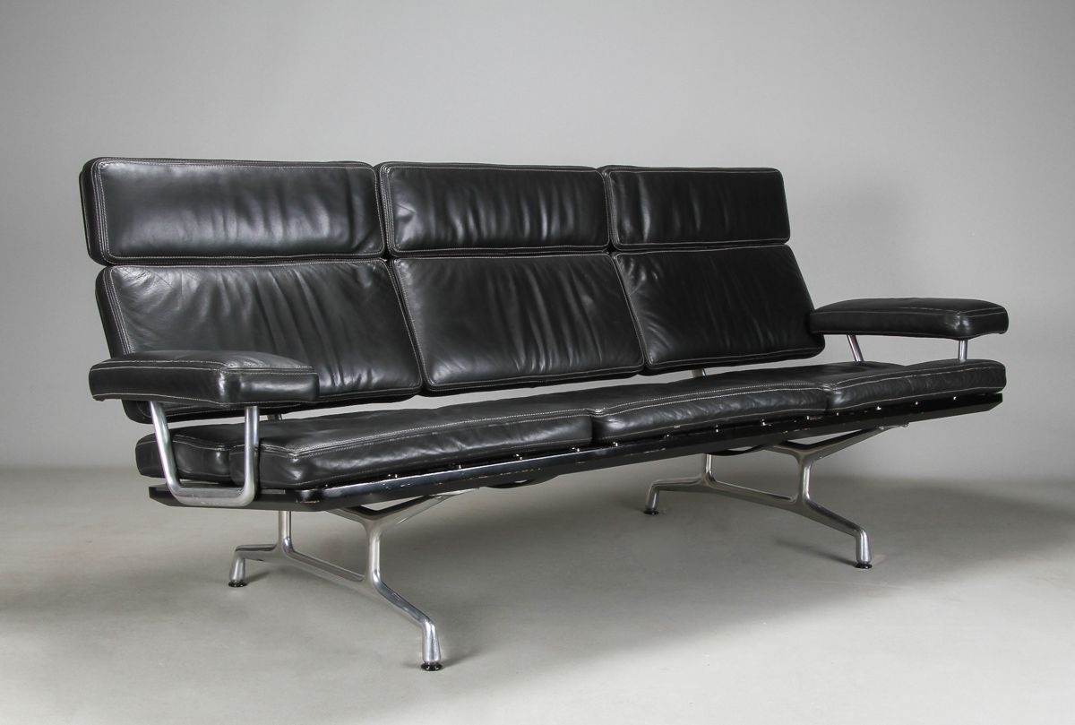 Peachy Eames Sofa From Icf For Herman Miller Furniture Dailytribune Chair Design For Home Dailytribuneorg