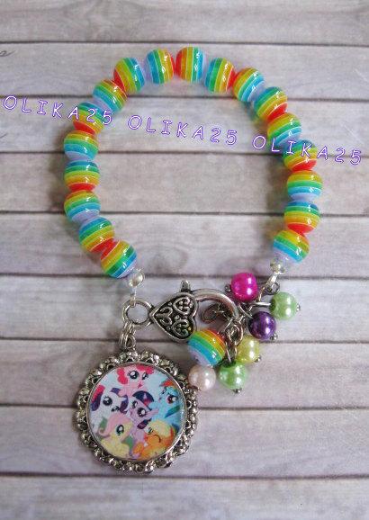 My Little Pony Bracelet Summer By Olika25
