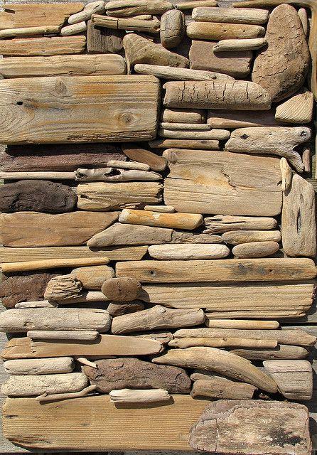 driftwood assemblage art