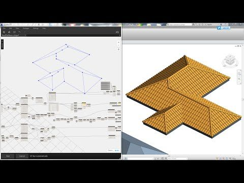Roof tile generator with Dynamo: Revit tips | ARCHITECTURE