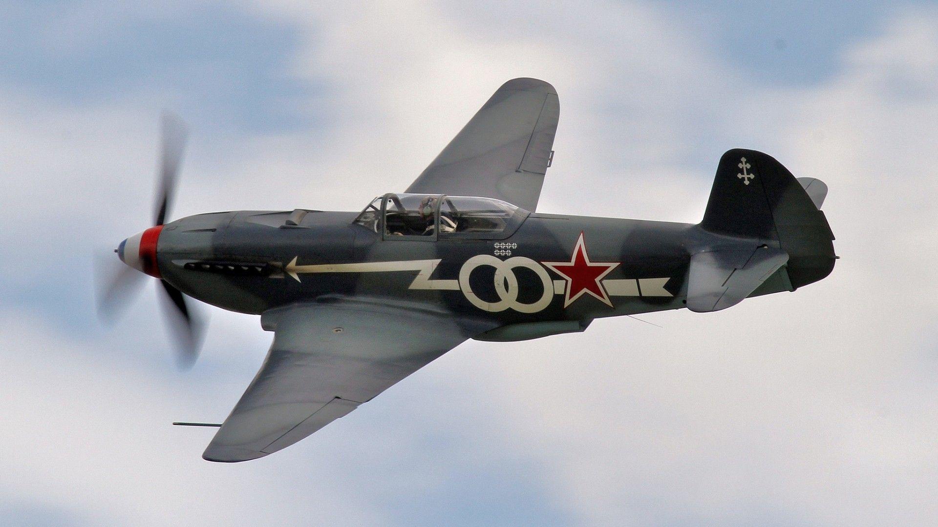 Обои одномоторный, советский, истребитель, yak-3. Авиация foto 8