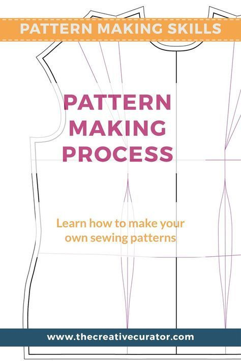 Learn How To Make Your Own Sewing Patterns | Learning, Patterns and ...