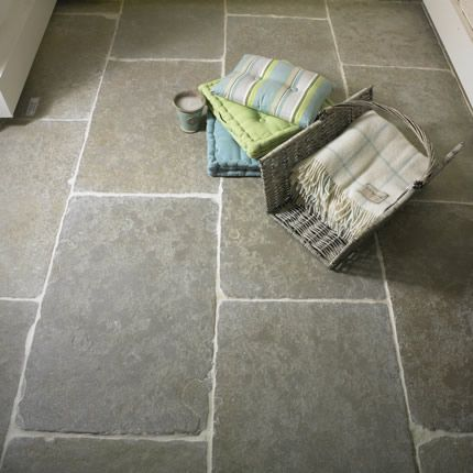 Limestone flooring hereford old farmhouse green limestone kitchens pinterest hereford Natural stone bathroom floor