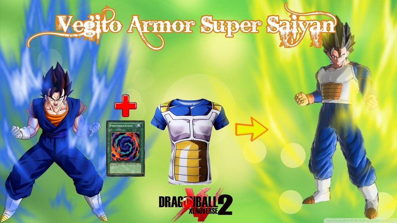 Dragon Ball Xenoverse 2 Mods - Vegito Armor Transform to