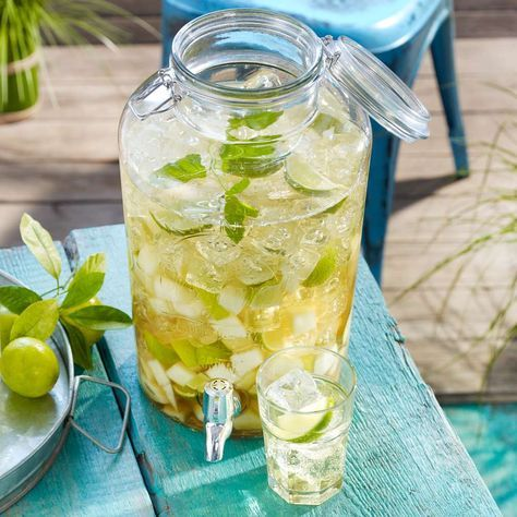 Photo of Caipirinha-Bowle mit Melonen