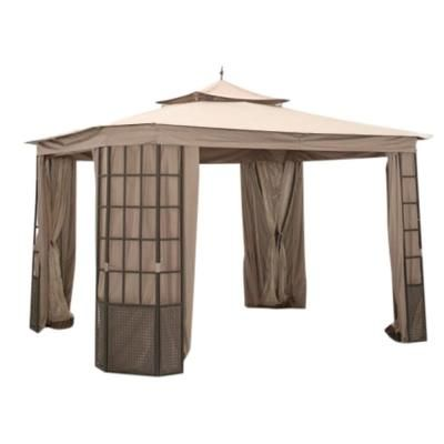 Garden Winds Riplock 350 Replacement Canopy Top And Side Mosquito