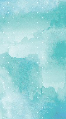 teal blue watercolor pattern iphone 6s wallpaper from belinspired.blogspot.com