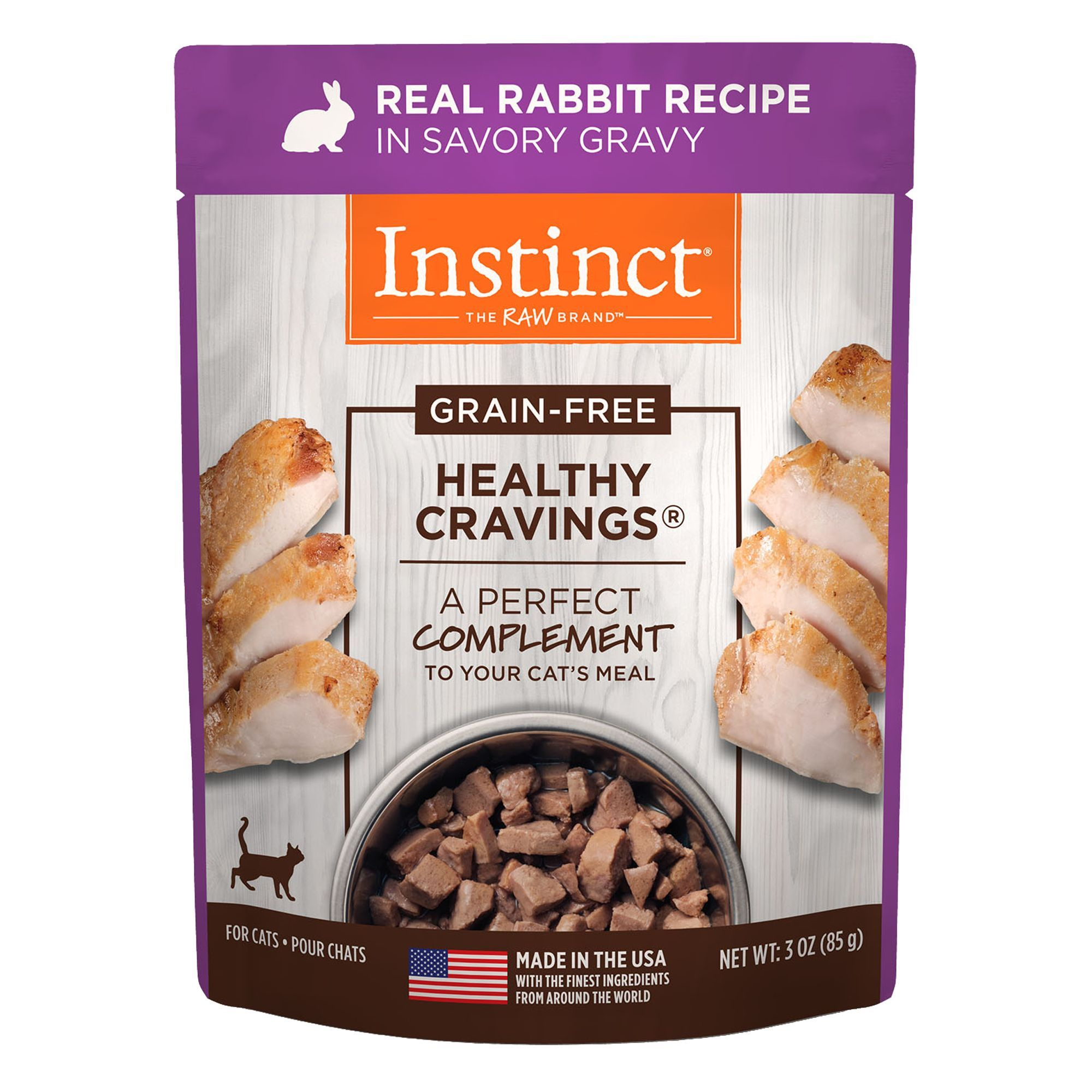Nature's Variety Instinct Healthy Cravings Cat Food Topper