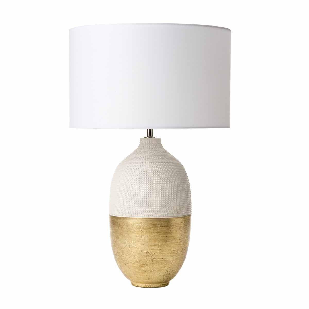Siya Table Lamp White Gold Base Only Table Lamp Base Table Lamp Wood Table Lamp