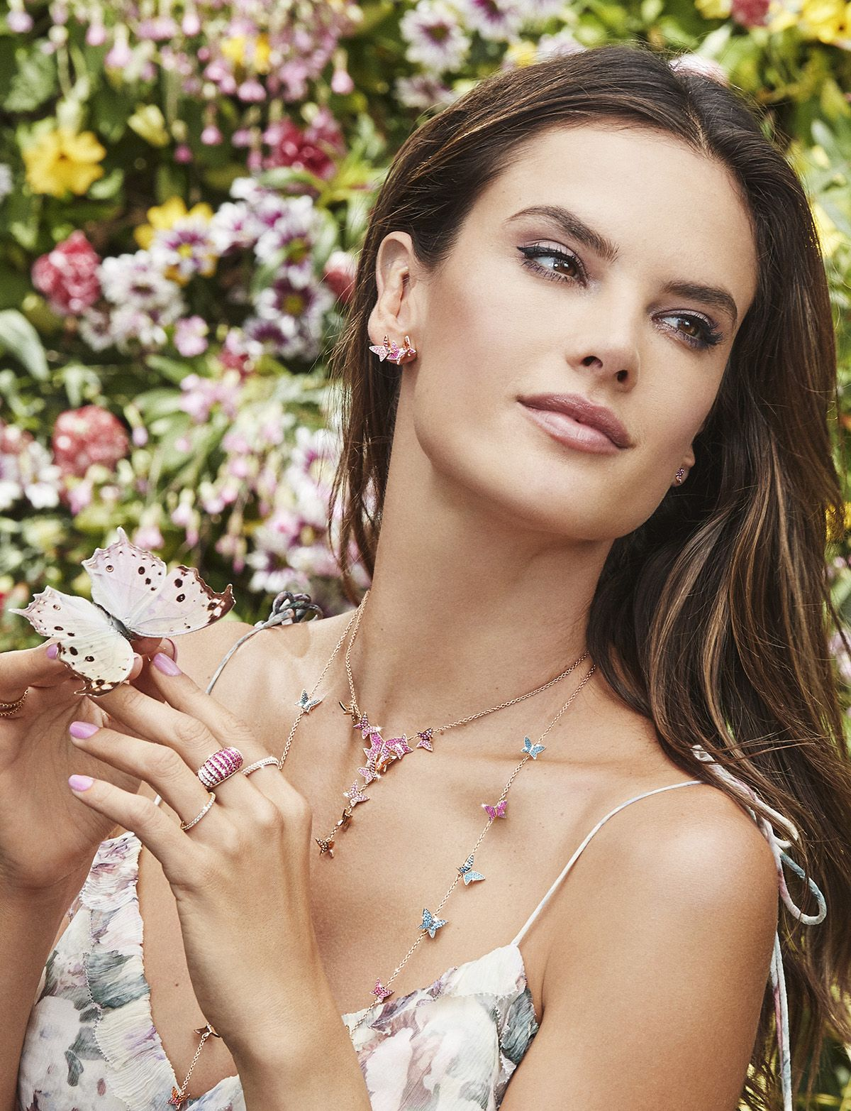 Swarovski debuts rainbow paradise collection with alessandra swarovski debuts rainbow paradise collection with alessandra ambrosio thecheapjerseys Image collections
