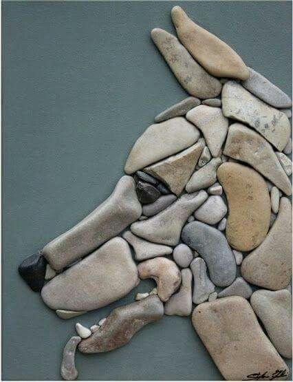Con piedra animales lindos pinterest piedra piedras for Sacos de piedras para jardin