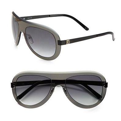 Givenchy Shield Aviator Sunglasses