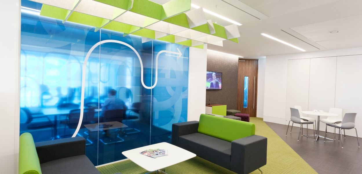 interaction case study rethink group creative office interior